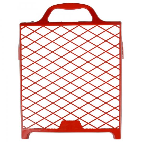 Abstreifgitter 27 x 29 cm, Kunststoff rot