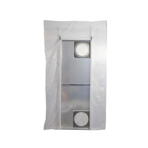 Pendel Staubschutztür in Profi Qualität - Set mit Tragetasche